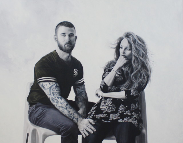 , 'Xavier + Catherine,' 2016, Dominik Mersch Gallery