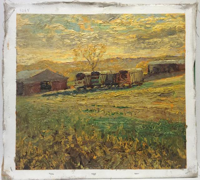 , '#5264 Wilber McIntyre's Wagons,' 2015, Carrie Haddad Gallery