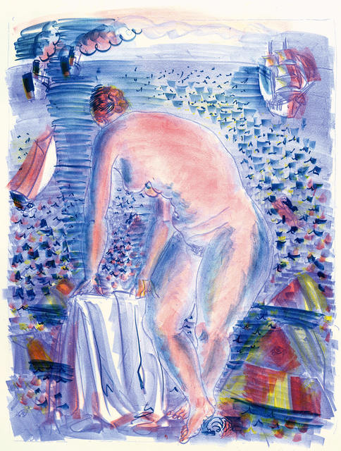 , 'Le grande Baigneuse (The Large Bather),' 1928, R. S. Johnson Fine Art