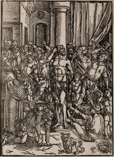Albrecht Dürer, 'The Scourging of Christ and Christ on the Mount of Olives', Print, Woodblocks, Hindman