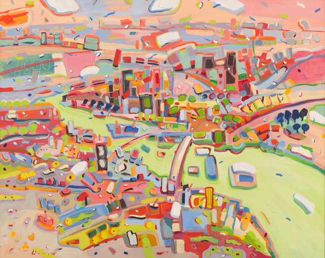 , 'City on a River,' 2006, Trident Gallery