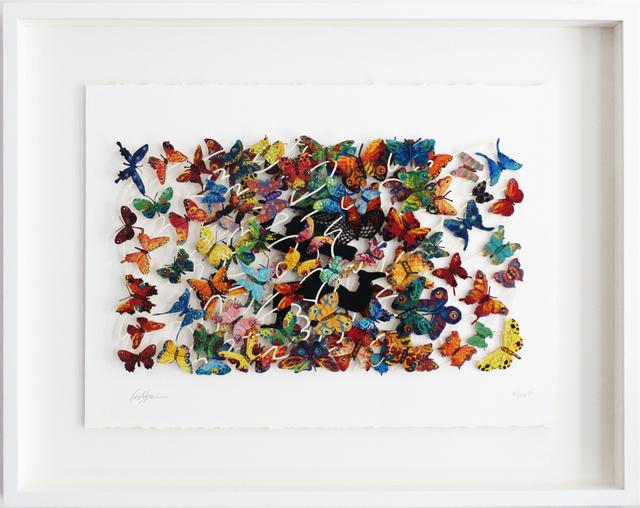 , 'Beauty Hunter - Paper Cut,' 2007, Galerie Duret