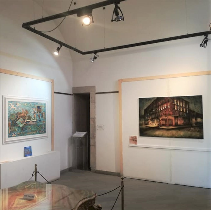 Artworks by Cynthia Segato and Mariarosaria Stigliano