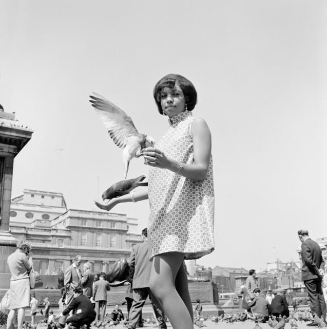 , 'Elrin Ilbreck at Trafalgar Square,' ca. 1966, October Gallery