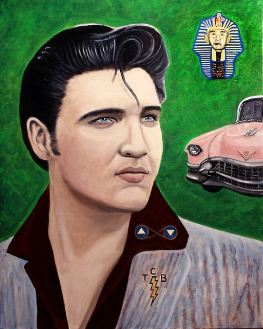 , 'Tarot - Elvis as the Chariot,' ca. 2016, Parlor Gallery