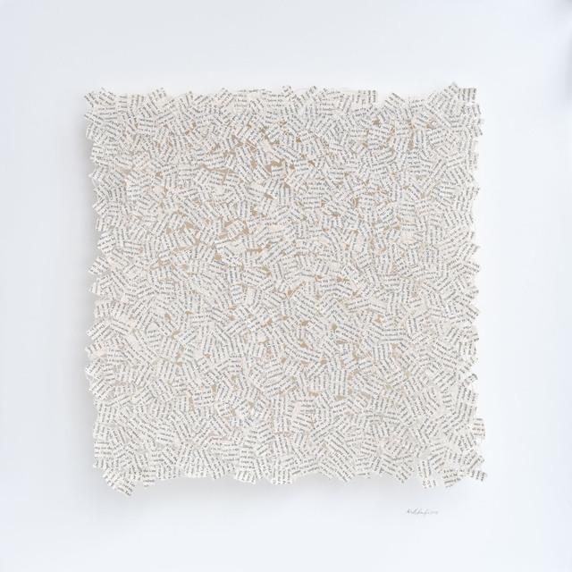 , 'Subtext No5,' 2018, Lustre Contemporary