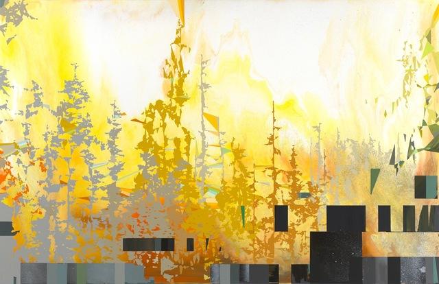 , 'Sunburst Radiant,' 2014, Eleanor Harwood Gallery