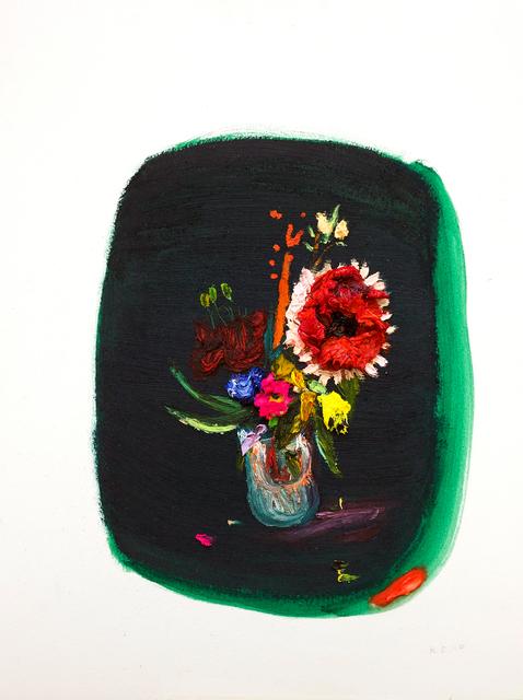 , 'Green Flower,' 2018, Tappan
