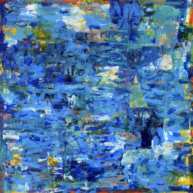 , 'Aqua Terra #4,' 2016, Russell Collection