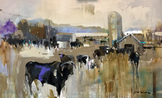, 'Watching Over His Herd,' , Beverly McNeil Gallery