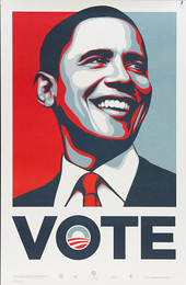 Shepard Fairey, 'Vote,' 2008, Rago Auctions: Urban Living (March 2017)