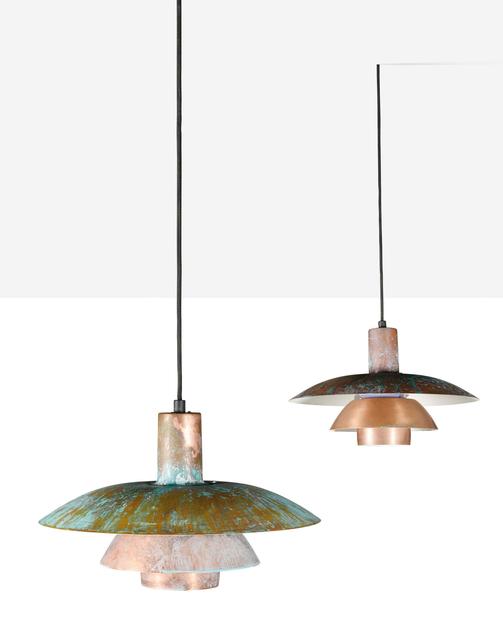 Poul Henningsen, 'Set of 2 pendant lamps', circa 1960, Aguttes