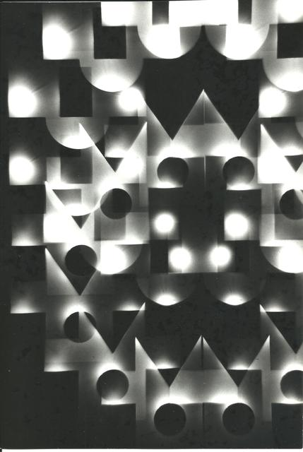 , 'Série Univers Tramé (Varetra Diversicateur Optique) Nr.2,' 1974, Maddox Arts