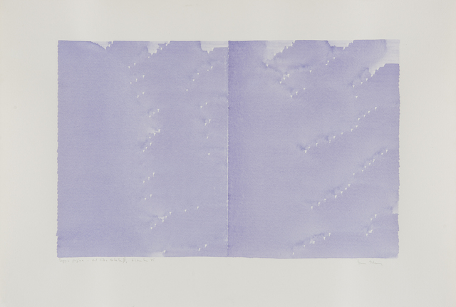 , 'Radical Writings, Doppia pagina, dal libro totale, IV,' 1985, Alison Jacques Gallery