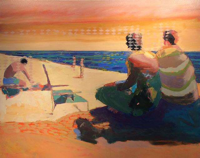 Linda Christensen, 'Overlook', 2015, Painting, Oil on canvas, Sue Greenwood Fine Art