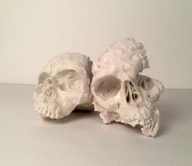 , 'Pair (skulls),' 2015, Mark Moore Fine Art