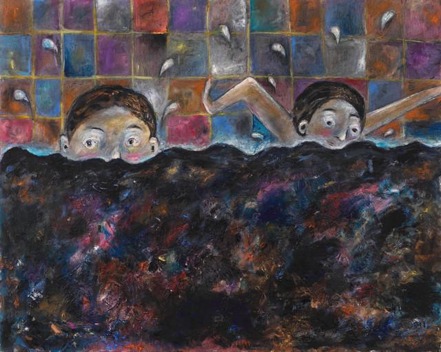 , 'rockpool,' 2017, Anton Kern Gallery