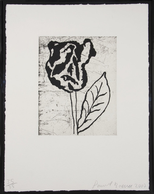 Donald Baechler, 'Flower II', 2007, Zane Bennett Contemporary Art