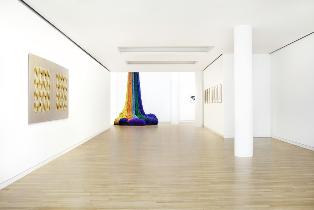 Predestined Colour Waves (exhibition view), 2015