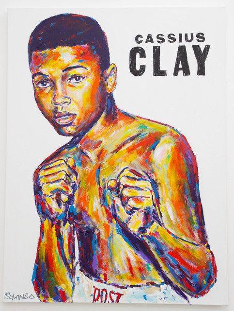 John Stango, 'Cassius Clay ', ca. 2018, The Compound Gallery