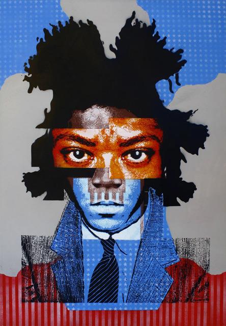 , 'In Memory of Jean Michel Basquiat,' 2011, Manfredi Style