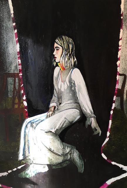 , 'Lauren (Rainbow Scarf),' 2016, Galerie Peter Kilchmann