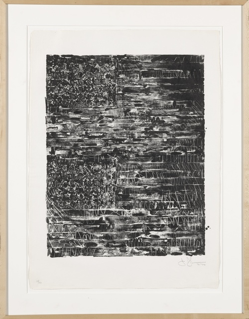 Jasper Johns, 'Two Flags (ULAE 121)', 1972, Print, Lithograph, Sotheby's