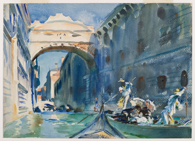 John Singer Sargent, 'The Bridge of Sighs', 1903-1904, Isabella Stewart Gardner Museum