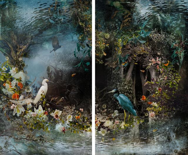 , 'Reflection (diptych) ,' 2014, Galerie de Bellefeuille