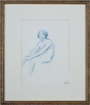 Georges d'Espagnat, 'Jeune Femme Assise', ca. 1900, David Barnett Gallery