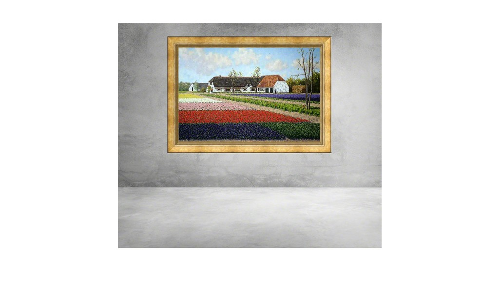 Old farm at Lisse