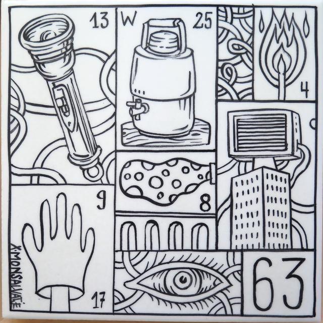 , 'Buscando el 13 (Looking for the 13),' 2018, SET ESPAI D'ART
