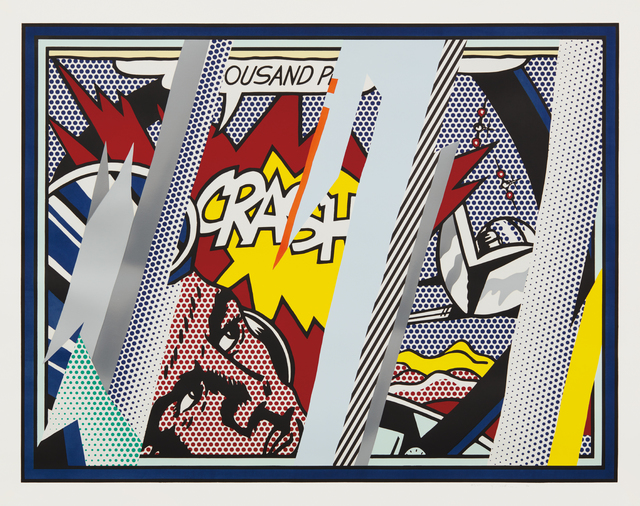 Roy Lichtenstein, 'Reflections on Crash, from Reflections Series', 1990, Phillips