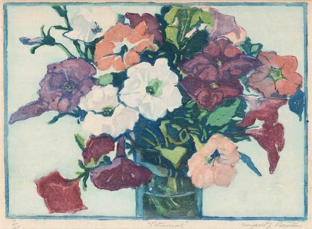 Margaret Jordan Patterson, 'PETUNIAS', 1921, Doyle