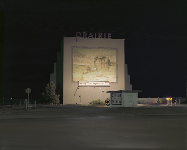 , 'Prairie Drive-in theater, Dumas, Texas; July, 1980,' , photo-eye Gallery