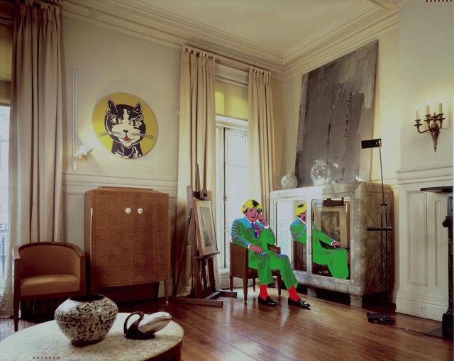 , 'Andy Warhol's Living Room, NYC,' 1987, Hilton Asmus
