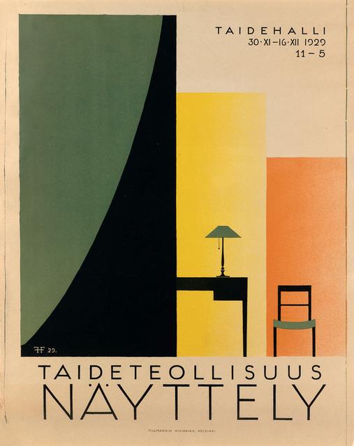 , 'Aidetollisuus Nayttely - Arts & Crafts Event Finland,' 1929, Omnibus Gallery