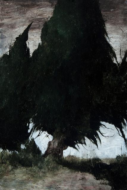 , 'Cypress Trees,' 2016, Valley House Gallery & Sculpture Garden