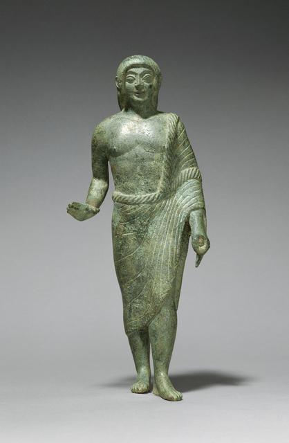 'Statuette of a Kouros', ca. 490 BCE, J. Paul Getty Museum