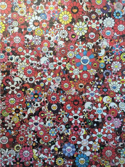 Takashi Murakami, 'Skulls & Flowers (red)', 2016, MSP Modern