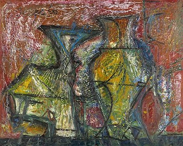 , 'Still Life with Chalice,' 1960, Aicon Gallery