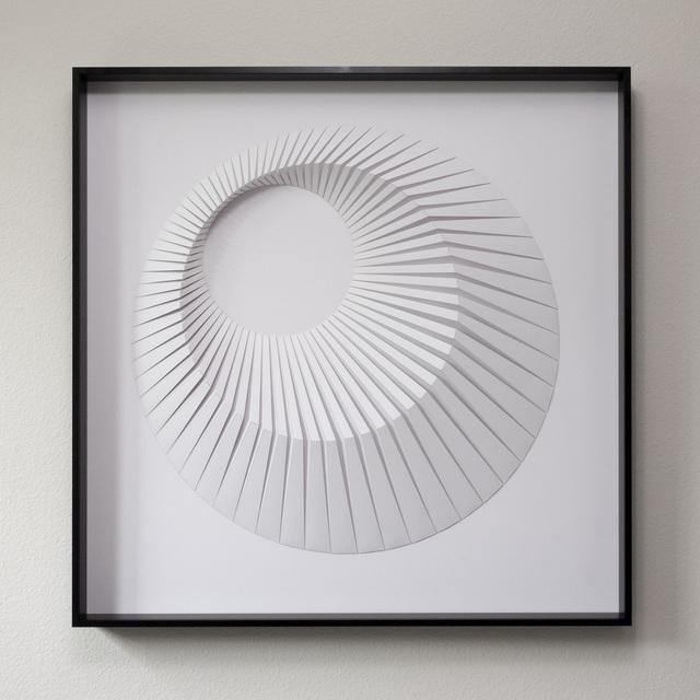 , 'Eclipse A White,' 2018, Contempop Gallery
