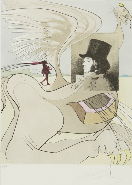 Salvador Dalí, 'Les Caprices De Goya (M. & L. 848-927; F. 77-3)', 1977, Print, The complete portfolio, comprising 80 heliogravures with etching, aquatint and drypoint printed in colors, Sotheby's