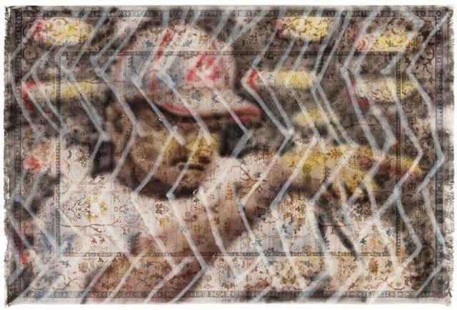 Zhou Yilun 周轶伦, 'Spray Paint Carpet #4', 2019, Beijing Commune