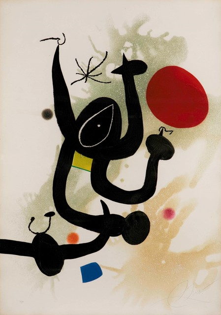 Joan Miró, 'Serpentine', 1979, Cambi