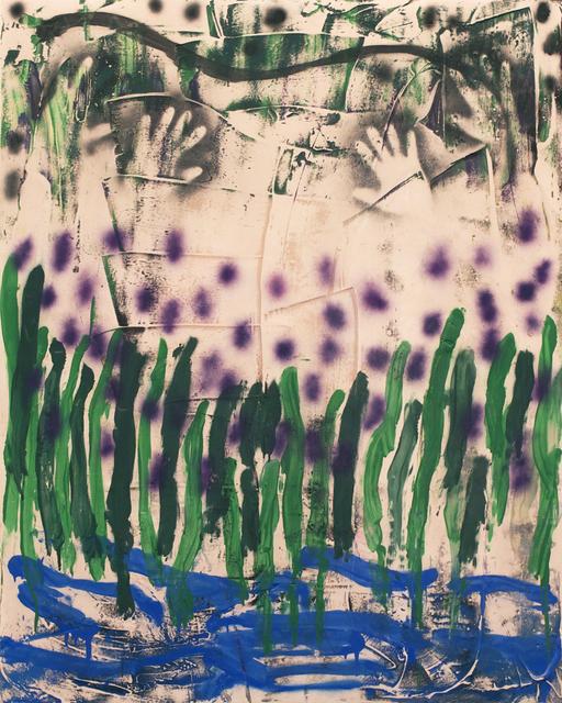 , 'CAVEWLAVENDER,' 2015, Johannes Vogt Gallery