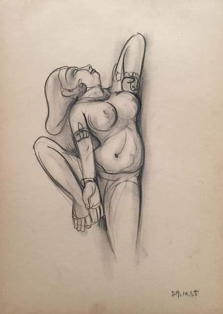 , 'Untitled (Khajuraho Studies),' 1955, AkaraArt