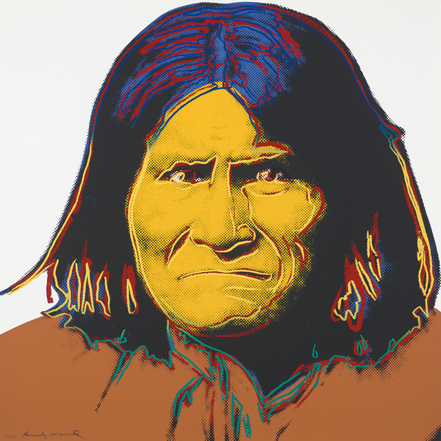 Andy Warhol, 'Geronimo, from Cowboys and Indians', 1986, Phillips