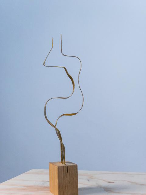 ", 'Sculpture in brass by Jacques Jarrige ""Angel #12"",' 2017, Valerie Goodman Gallery"