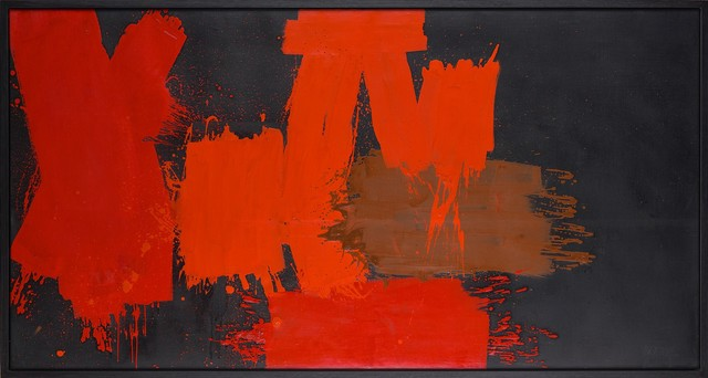 , 'Rouges différents sur noir – Liechtenstein,' 1956-1957, Belvedere 21